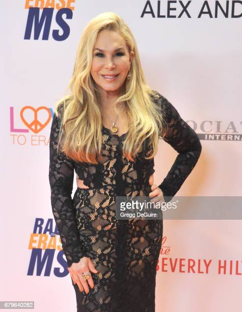 Adrienne Maloof arrives at the 24th Annual Race To Erase MS Gala at The Beverly Hilton Hotel on May 5 2017 in Beverly Hills California