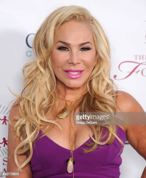 Adrienne Maloof arrives at the annual Brent Shapiro Foundation For Alcohol and Drug Prevention Summer Spectacular at a Private Residence on September...