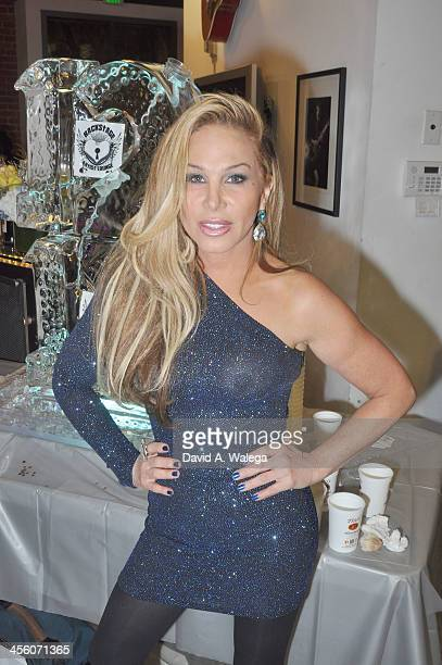 Adrienne Maloof attends 'A Sparkling Affair' Music Industry Charity Event at The Gibson Showroom on December 12 2013 in Los Angeles California