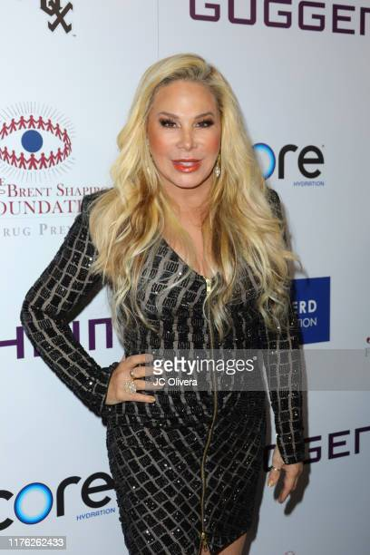 Adrienne Maloof attends The Brent Shapiro Foundation for Drug Prevention Summer Spectacular Gala at The Beverly Hilton Hotel on September 21 2019 in...