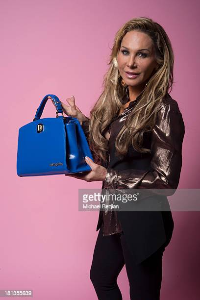 Adrienne Maloof Poses For A Portrait At Mark Kearney Group Iced Out Luxury Emmy
