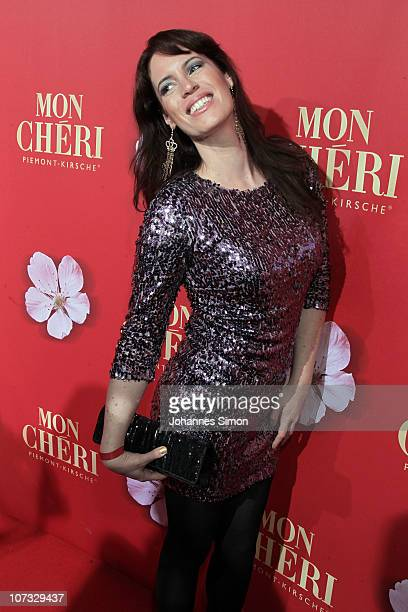 Adrienne McQueen attends the 'Barbara Day 2010' Charity Gala at Haus der Kunst on December 4, 2010 in Munich, Germany.