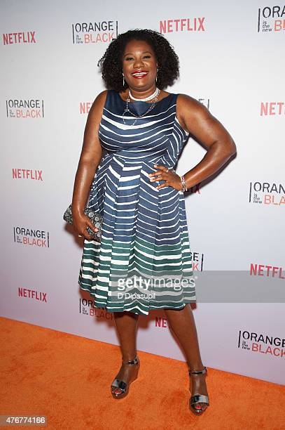 Adrienne Moore attends the Orangecon Fan Event at Skylight Clarkson SQ on June 11 2015 in New York City