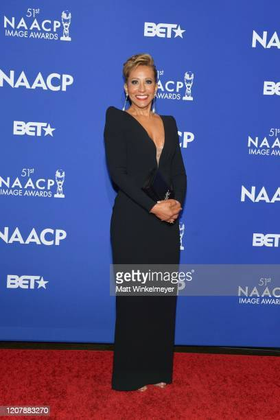 Adrienne Norris attends the 51st NAACP Image Awards nontelevised Awards Dinner on February 21 2020 in Hollywood California