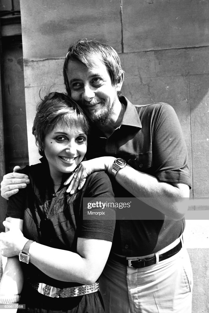 Adrienne Posta and Derek Fowlds at the Theatre Royal, Newcastle where they are appearing in The Norman Conquest on 3rd August 1981 : News Photo