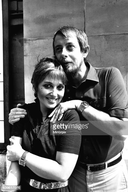 Adrienne Posta and Derek Fowlds at the Theatre Royal Newcastle where they are appearing in The Norman Conquest on 3rd August 1981