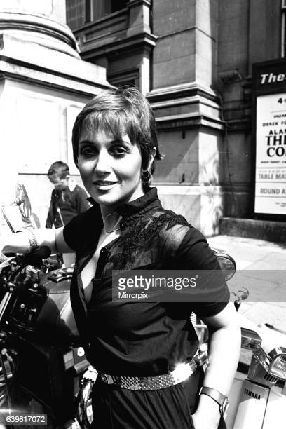 Adrienne Posta at the Theatre Royal Newcastle where they are appearing in The Norman Conquest on 3rd August 1981