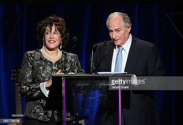 Adrienne Rubin and Stan Rubin attend the Arthritis Foundation 'Commitment to a Cure' 2012 Awards Gala at The Beverly Hilton Hotel on October 25 2012...