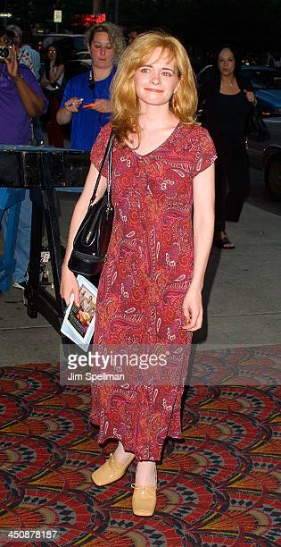 Adrienne Shelly during Green Fingers Screening at Sony lincoln Square Theater in New York City New York United States