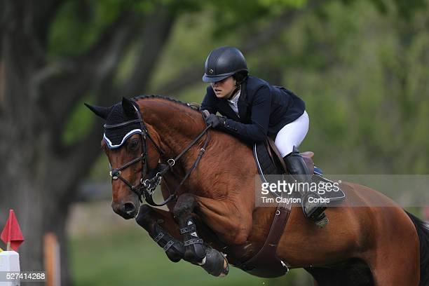 Adrienne Sternlicht riding Quidam MB in action during the $100000 Empire State Grand Prix presented by the Kincade Group during the Old Salem Farm...