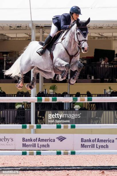 Adrienne Sternlight during the $70000 Hollow Creek 150M Classic at the Winter Equestrian Festival at The Palm Beach International Equestrian Center...