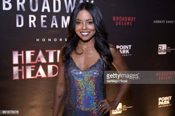 Adrienne Warren attends the 10th Annual Broadway Dreams Supper at The Plaza Hotel on December 12 2017 in New York City