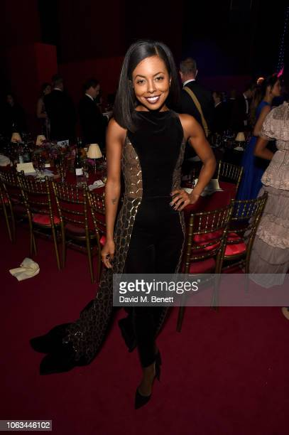 Adrienne Warren attends The 64th Evening Standard Theatre Awards after party at the Theatre Royal Drury Lane on November 18 2018 in London England