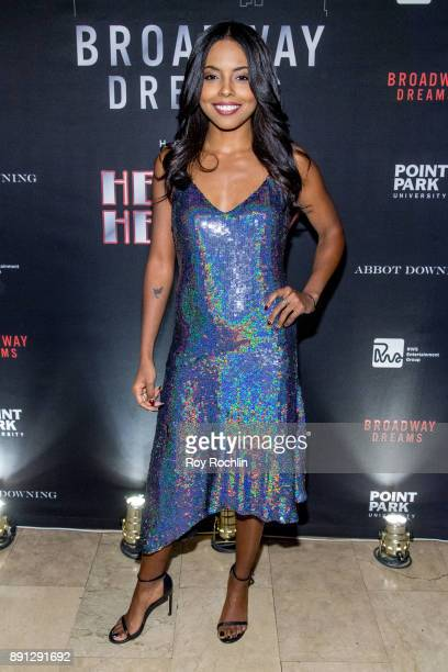 Adrienne Warren attends the10th Annual Broadway Dreams Supper at The Plaza Hotel on December 12 2017 in New York City