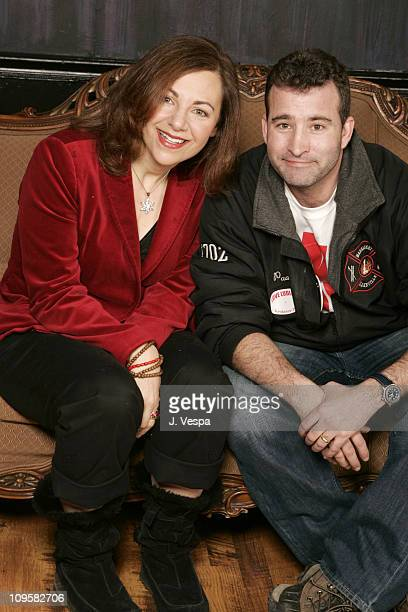 Adrienne Weiss director and Jay Patterson during 2005 Sundance Film Festival Love Ludlow Portraits at HP Portrait Studio in Park City Utah United...