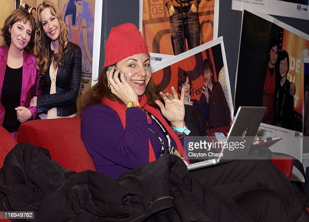 Adrienne Weiss during 2005 Sundance Film Festival Alfred P Sloan Foundation Reception at Kimball Arts Center in Park City Utah United States