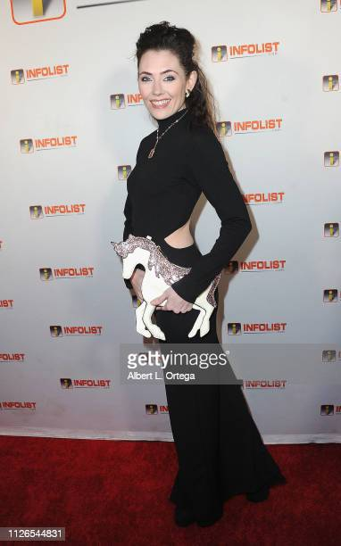 Adrienne Wilkinson arrives for PreOscar Soiree Hosted By INFOListcom and Birthday Celebration for Founder Jeff Gund held at SkyBar at the Mondrian...