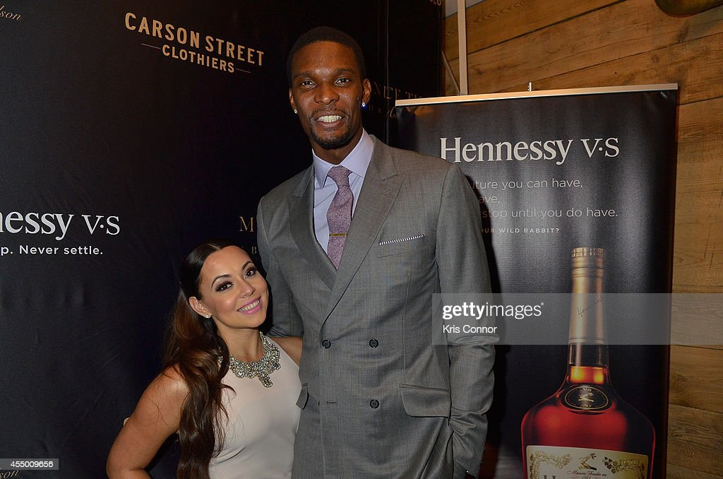 Chris Bosh and Hennessy V.S Raise A Glass To Mr. Nice Tie : News Photo