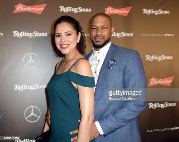 Adris Debarge and actor Finesse Mitchell at the Rolling Stone Live Houston presented by Budweiser and MercedesBenz on February 4 2017 in Houston...