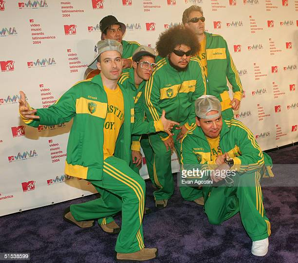 Adrock MCA and Mike D Michael Diamond of The Beastie Boys arrive at the 2004 MTV Video Music Awards Latin America at the Jackie Gleason Theater...