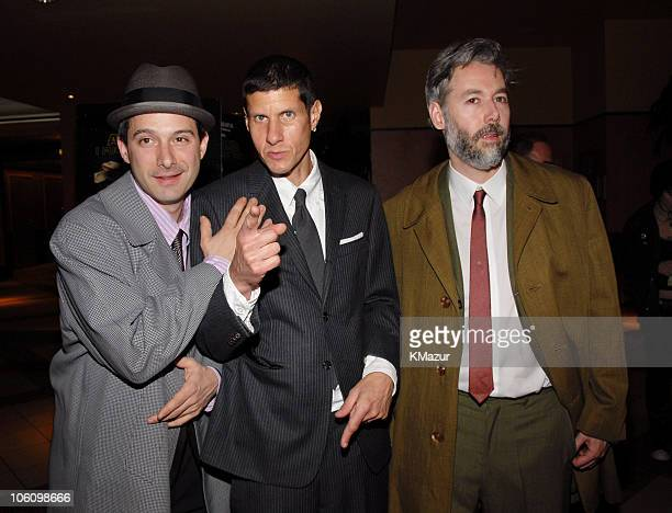 AdRock Mike D and MCA of Beastie Boys