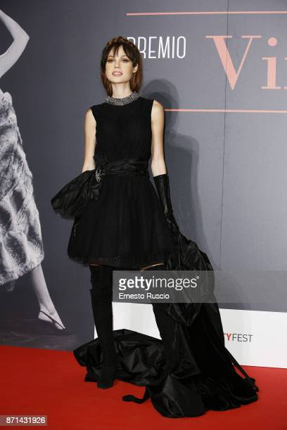 Adua Del Vesco attends The Virna Lisi Award at Auditorium Parco Della Musica on November 7 2017 in Rome Italy