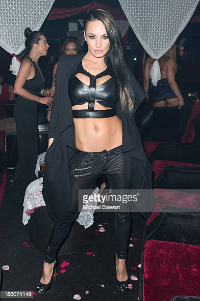 Adult actress Alektra Blue attends the 8th Anniversary celebration at Headquarters on October 3 2013 in New York City