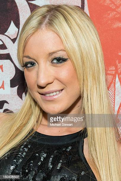 Adult actress Amy Brooke visits Headquarters on August 16 2012 in New York City