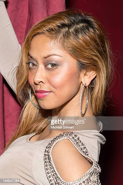 Adult actress Anju McIntyre attends Alexis Ford's birthday celebration at Rick's Cabaret on May 8, 2012 in New York City.