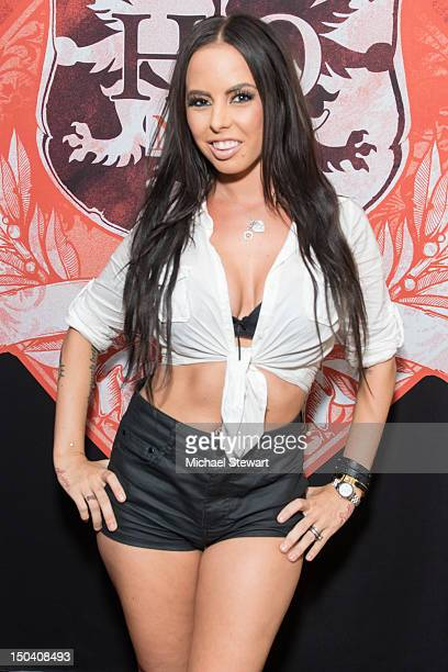 Adult actress Brandy Aniston visits Headquarters on August 16 2012 in New York City