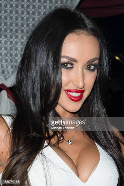 Adult actress Breanne Benson attends the 8th Anniversary celebration at Headquarters on October 3 2013 in New York City
