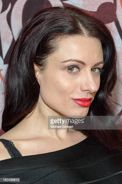 Adult actress Darenzia visits Headquarters on September 20, 2012 in New York City.