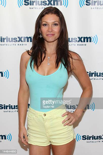 Adult actress Heather Vandeven visits SiriusXM Studios on May 16 2012 in New York City