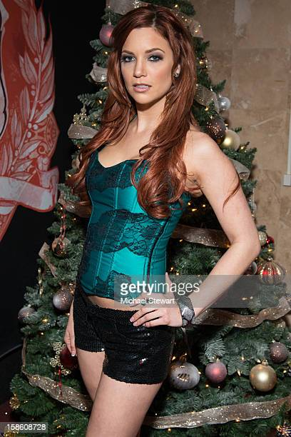 Adult actress Jayden Cole attends the XXXMas Spectacular event at Headquarters on December 20 2012 in New York City