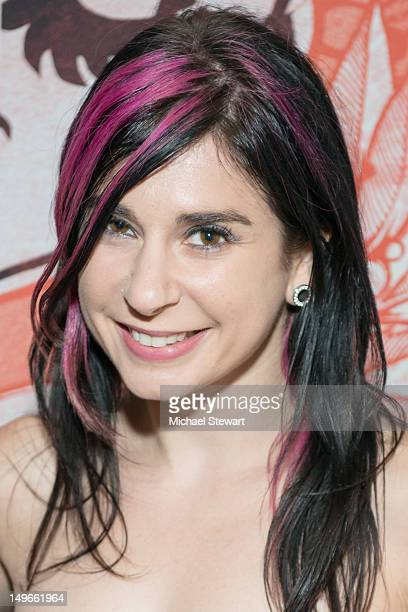 Adult Actress Joanna Angel attends Kristin Davis Lainie Speiser sign copies of their new book The Manhattan Madame's Secrets To Great Sex at...