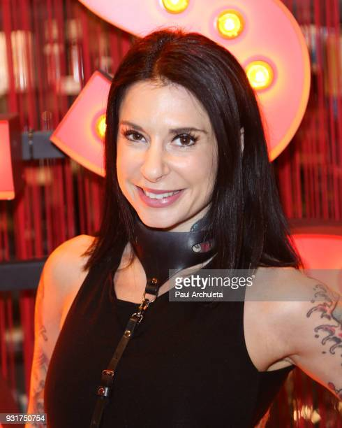 Adult Actress Joanna Angel signs copies of her new book Night Shift at the Pleasure Chest on March 13 2018 in West Hollywood California