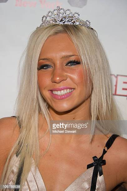 Adult actress Kacey Jorden attends a party at Scores on March 3, 2011 in New York City.