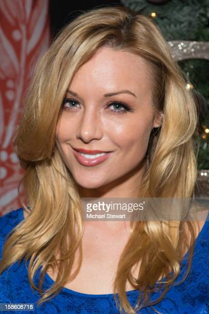 Adult actress Kayden Kross attends the XXXMas Spectacular event at Headquarters on December 20 2012 in New York City