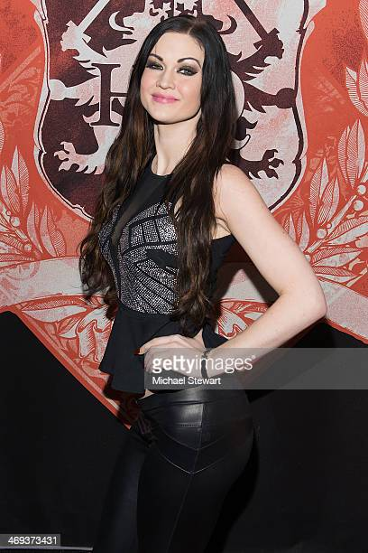 Adult Actress Kendall Karson attends Big John's Birthday Celebration at Headquarters on February 13, 2014 in New York City.