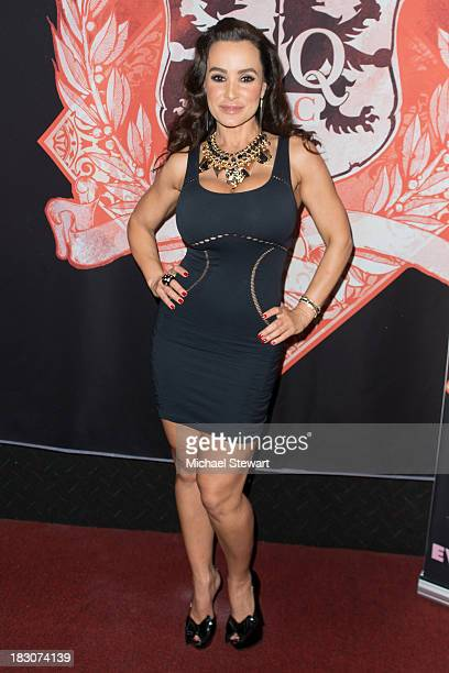 Adult actress Lisa Ann attends the 8th Anniversary celebration at Headquarters on October 3 2013 in New York City
