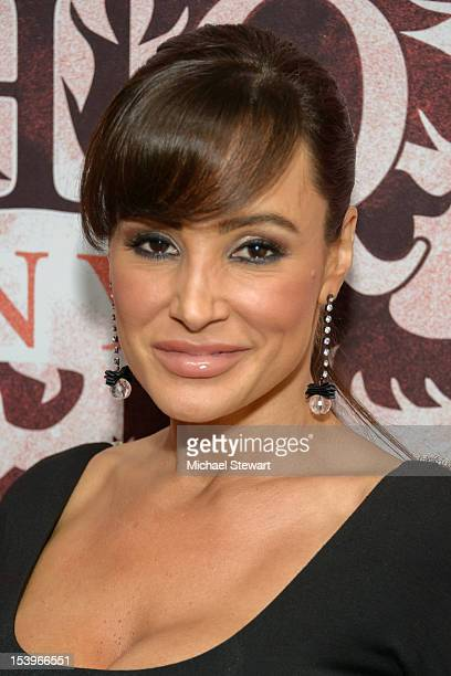 Adult actress Lisa Ann visits HeadQuarters on October 11 2012 in New York City