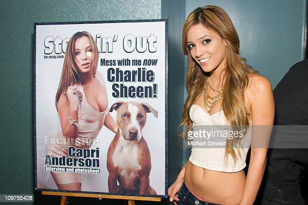 Adult actress Melanie Rios visits Steppin' Out with the Tabloids at Sapphire's Gentlemen Club on March 3 2011 in New York City