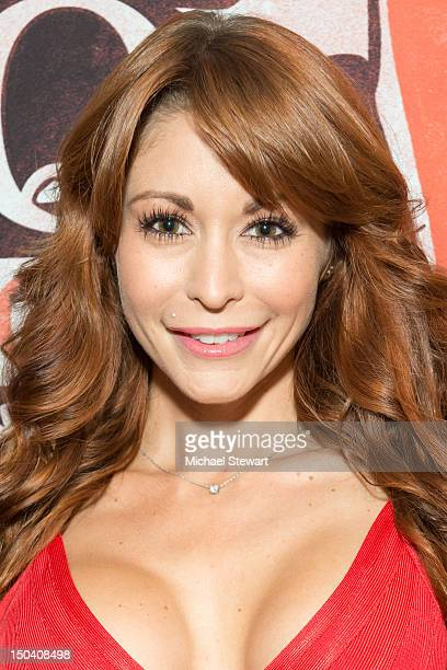 Adult actress Monique Alexander visits Headquarters on August 16 2012 in New York City