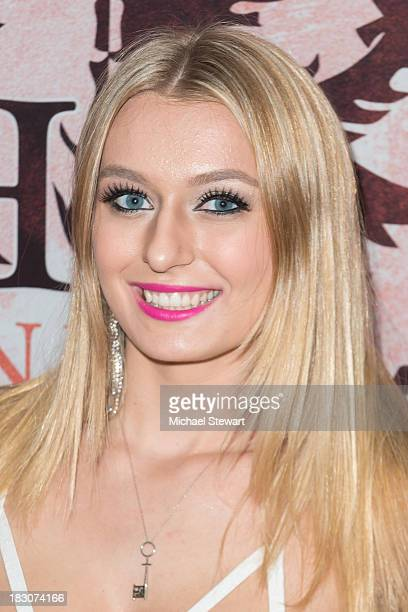 Adult actress Natalia Starr attends the 8th Anniversary celebration at Headquarters on October 3 2013 in New York City