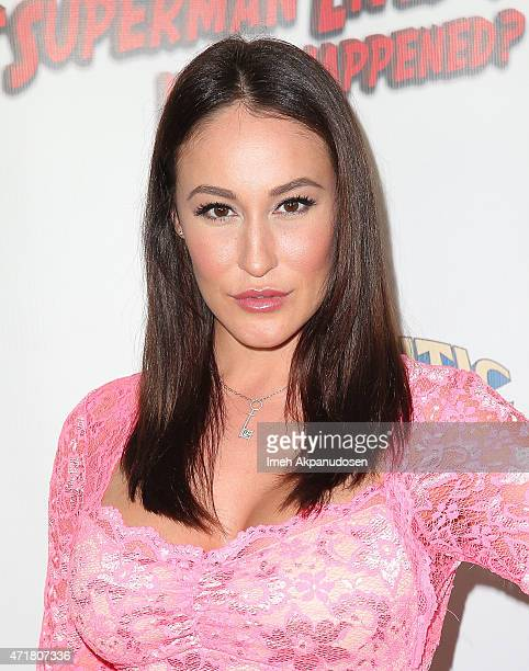 Adult actress Ryan Keely attends the world premiere of 'The Death of 'Superman Lives' What Happened' at the Egyptian Theatre on April 30 2015 in...