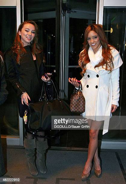 Adult actresses Capri Anderson and Melanie Rios are seen on March 03 2011 in New York City