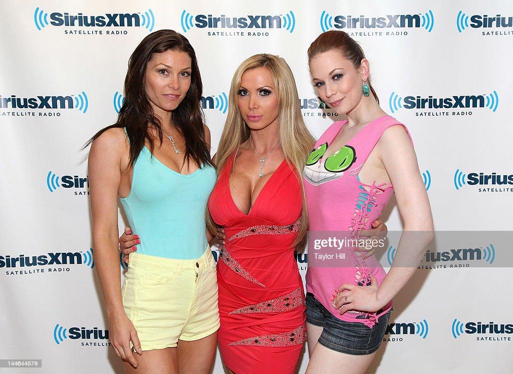 Celebrities Visit SiriusXM : News Photo