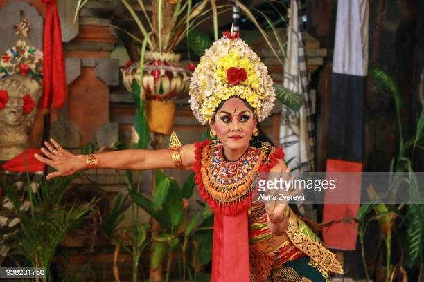 Adult Balinese dancer