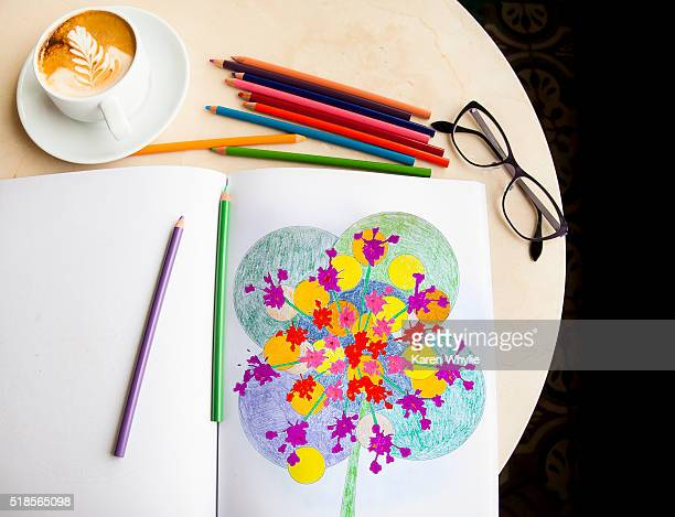Adult Coloring Books - Brief