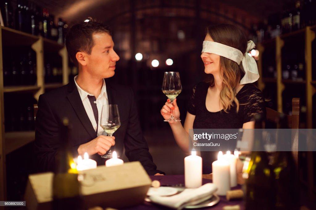 Dating wine tasting